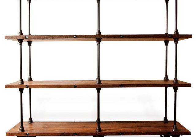 Industrial Loft Collection Bookcases
