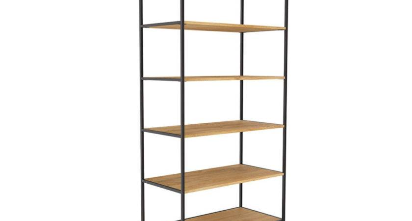 Industrial Open Bookcase Storage Bookcases Products West