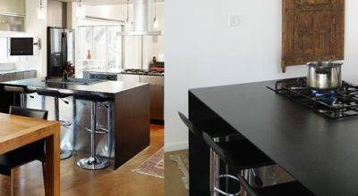 Infinitos Solid Steel Plate Countertops