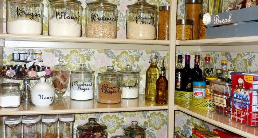 Inspirational Kitchen Pantry Makeovers Home Stories