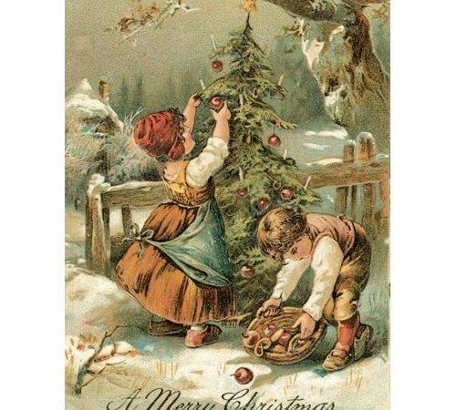 Inspired Ambitions Beautiful Artwork Vintage Christmas