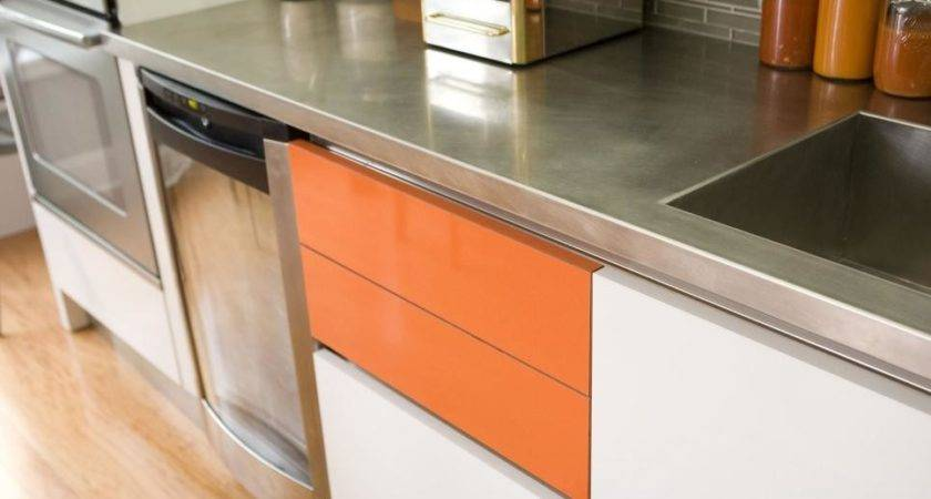 Inspired Examples Stainless Steel Kitchen Countertops
