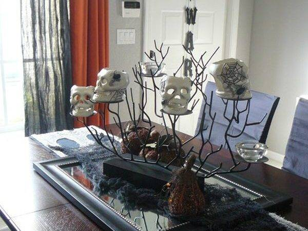 Inspiring Halloween Table Decorations Celebrate