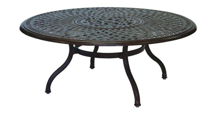 Inspiring Metal Patio Coffee Table Design