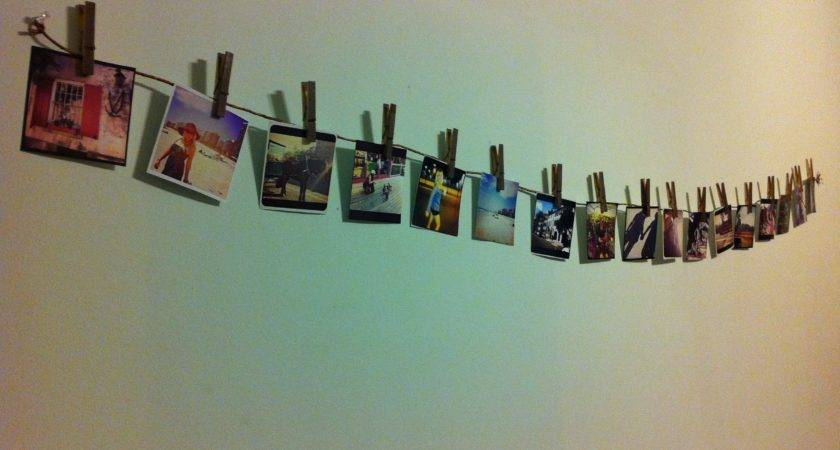 Instagram Clothesline Display Kwhaticand