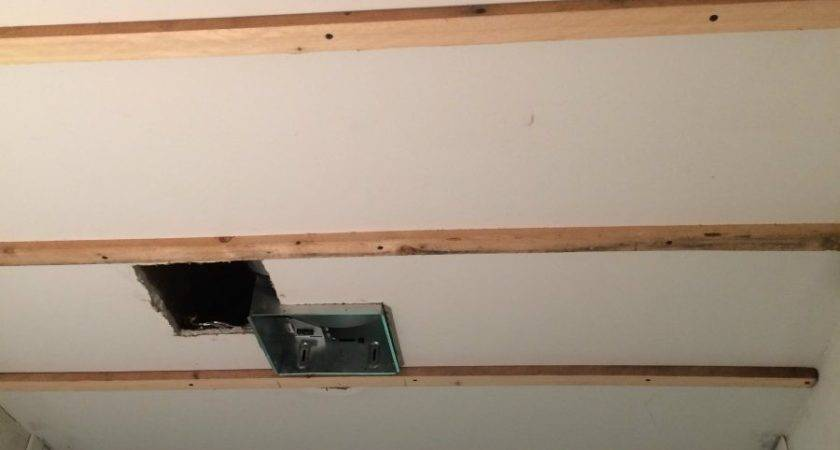 Install Beadboard Ceiling Refresh Living