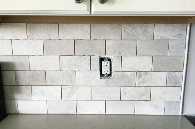 Install Marble Subway Tile Backsplash Just