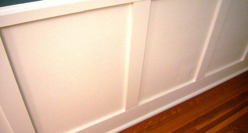 Install Recessed Panel Wainscoting Tos Diy