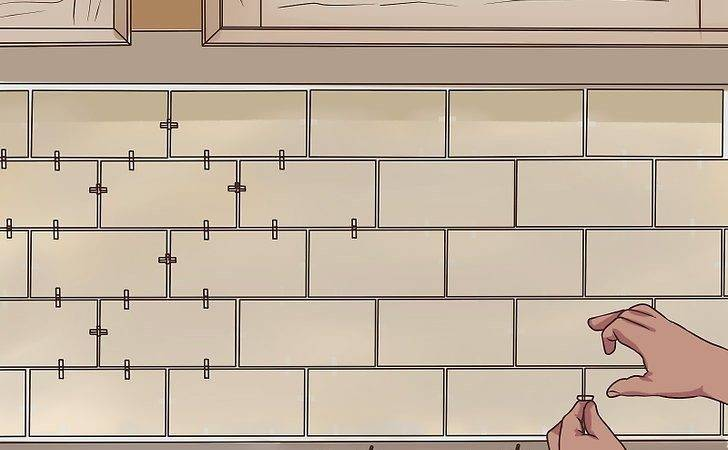 Install Subway Tile Backsplash