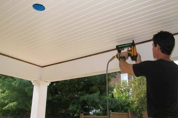 Installing Beadboard Ceiling Systems