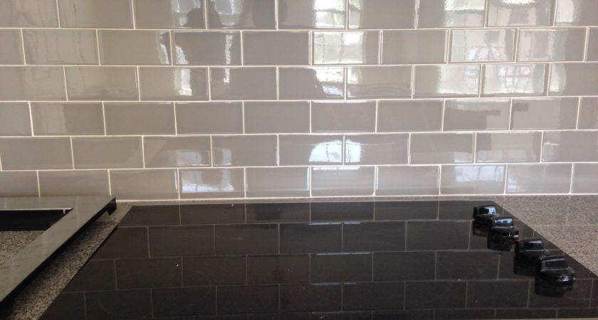 Installing Glass Subway Tile Bathroom Home Redesign