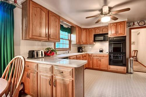 Integrate Dated Oak Kitchen Cabinets Without