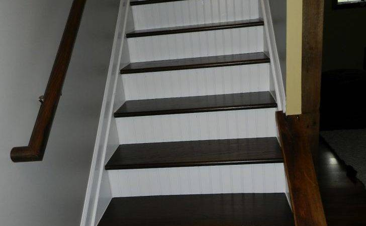 Interior Finish Basement Stairs Within Admirable