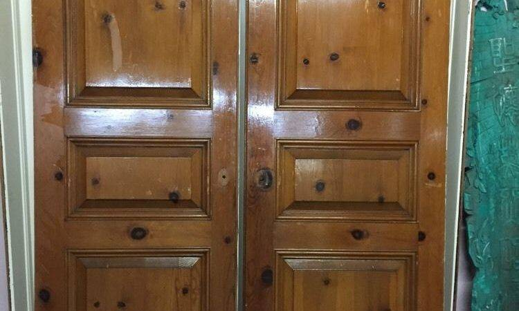 Interior Privacy Doors Closet Solid Wood French