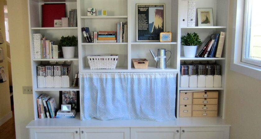Interior Wall Mounted Diy Built Bookcase