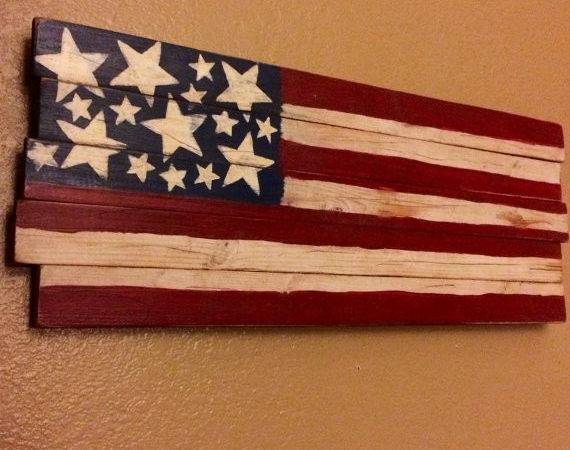 Items Similar American Flag Sign Made Reclaimed