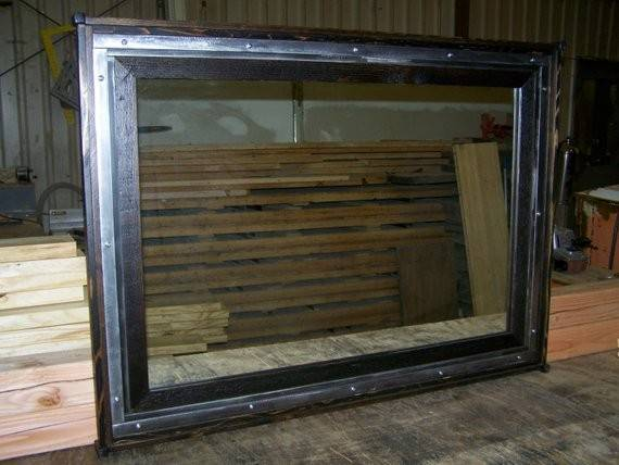 Items Similar Frames Custom Industrial Framed Mirrosr