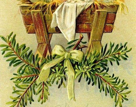 Items Similar Old Fashioned Christmas Cards Religious