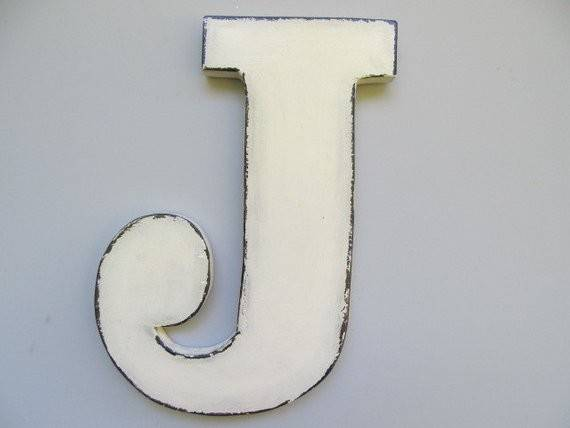 Items Similar Wooden Letter Rustic Large Wall Wood