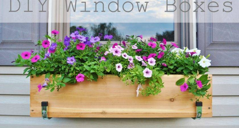 Jessicandesigns Diy Window Flower Boxes