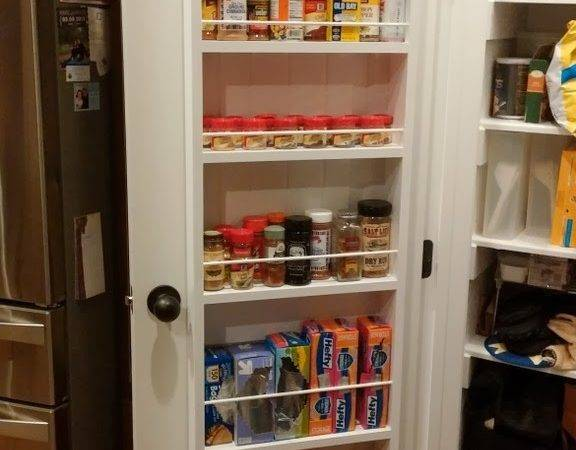 Just Square Enough Door Hanging Spice Rack
