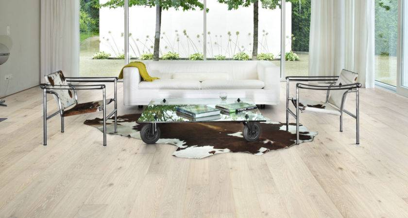 Kahrs Oak Nouveau Blonde Engineered Wood Flooring