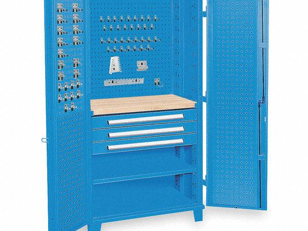 Kennedy Pegboard Cabinet Overall Width
