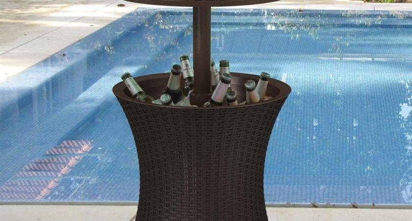 Keter Pacific Outdoor Cooler Table Atg Stores