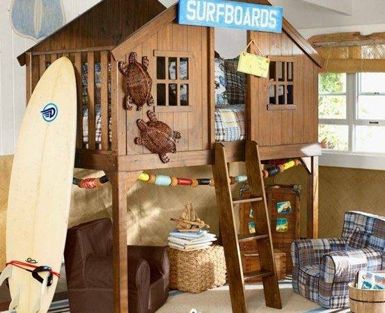 Kids Clubhouse Bed