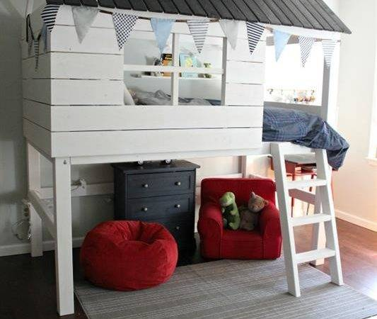 Kids Clubhouse Loft Bed Buildsomething