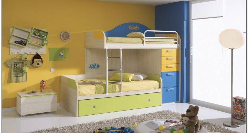 Kids Loft Bed Storage Home Design