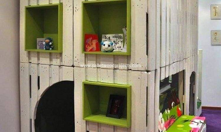 Kids Playhouse Wooden Pallets Pallet Wood Projects