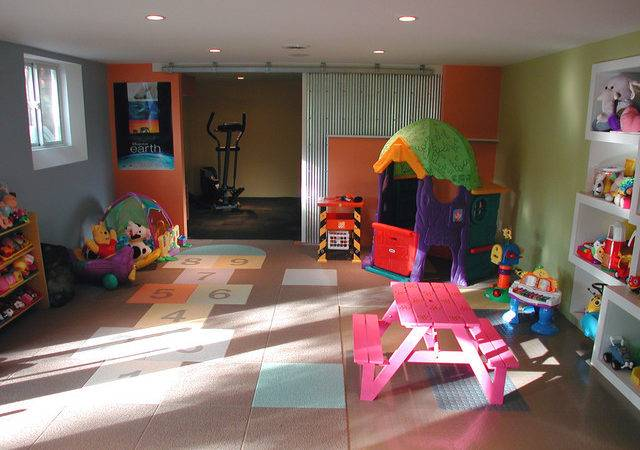 Kids Playroom Contemporary Columbus Sym Home