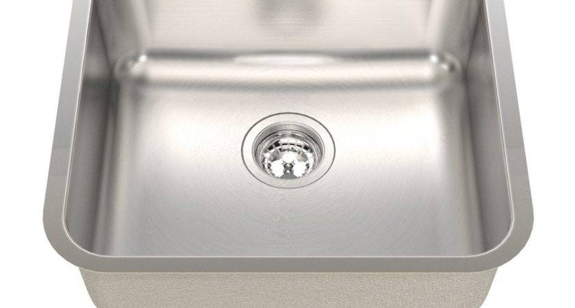 Kindred Qsua Gauge Undermount Single Basin