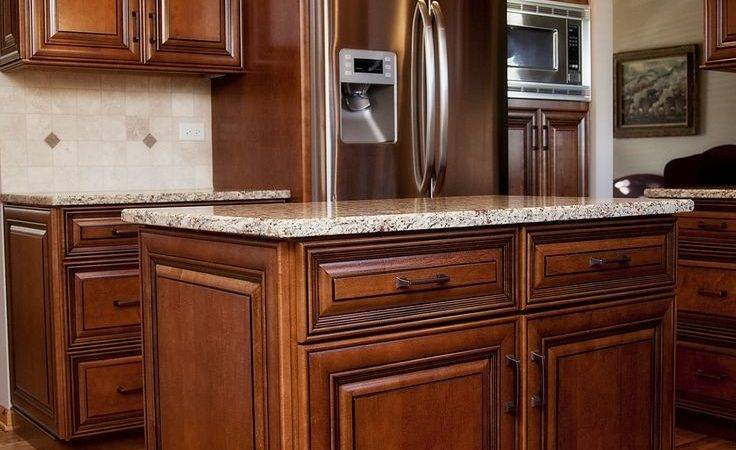 Kitchen Amusing Staining Oak Cabinets