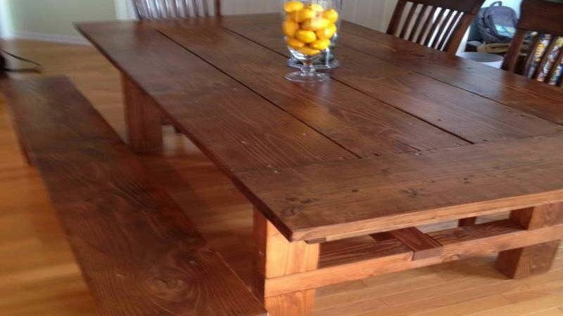 Kitchen Build Table Dining