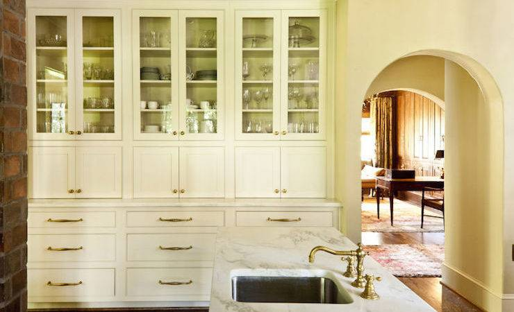 Kitchen Built Hutch Country