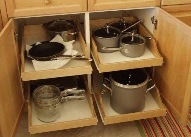 Kitchen Cabinet Organizer Pull Out Drawers New Interior