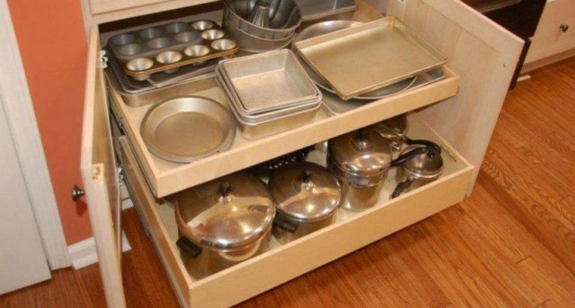 Kitchen Cabinet Pull Outs Drawer Organizers