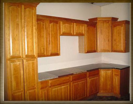 Kitchen Cabinets Leave Honey Oak Paint White Mocked