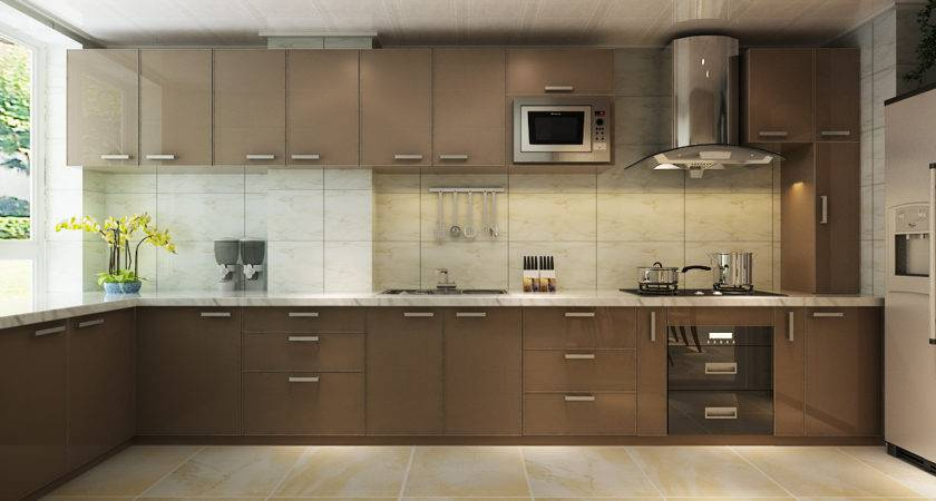 Kitchen Cabinets Shaped Home Design