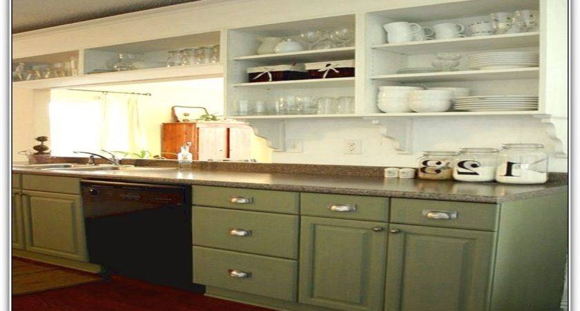 Kitchen Cabinets Without Doors Upper
