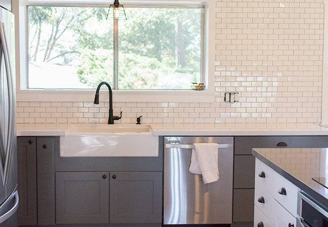 Kitchen Chronicles Diy Subway Tile Backsplash Part