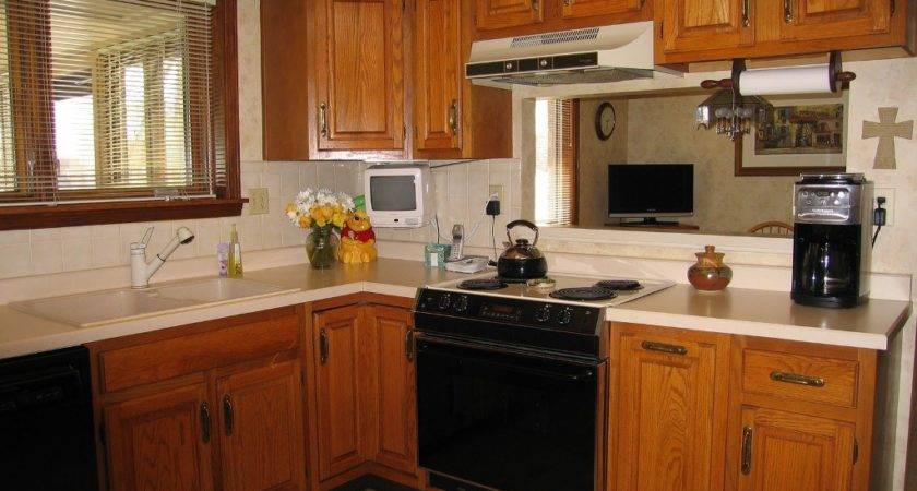 Kitchen Color Schemes Oak Cabinets Colors