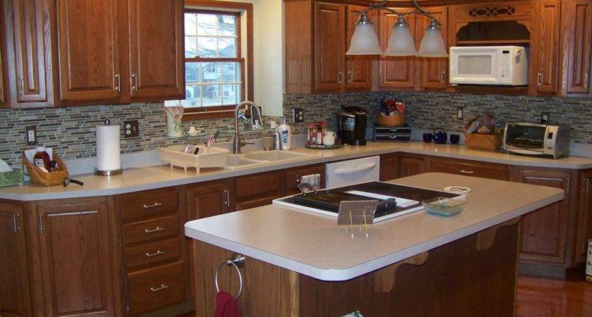Kitchen Colors Oak Cabinets Awesome Home Design