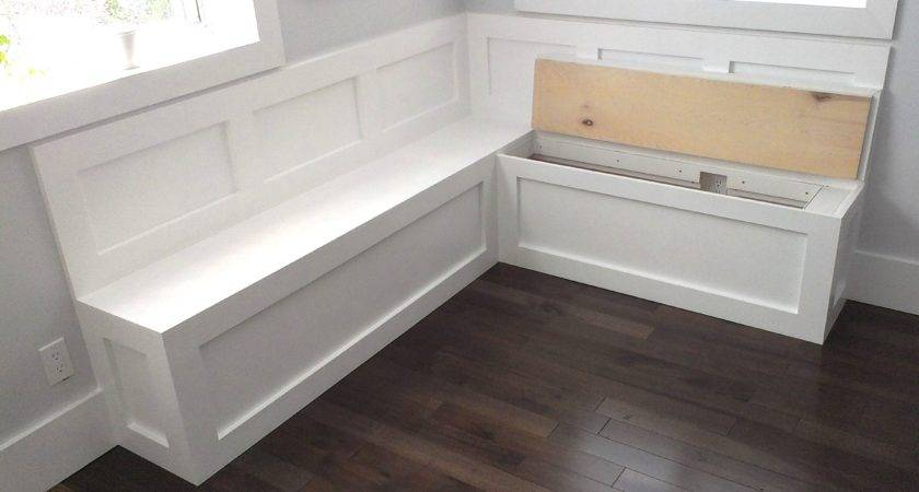 Kitchen Corner Bench Seating Storage Also