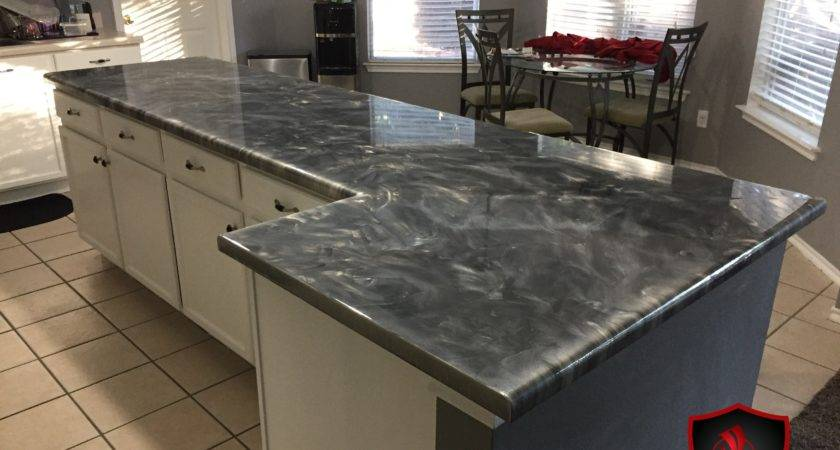 Kitchen Counters Diy Kitchenc Countertop Daich Coatings