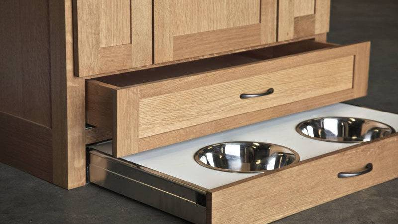 Kitchen Design Idea Include Toe Kick Drawers Your
