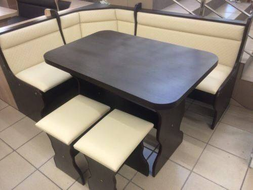 Kitchen Dining Corner Seating Bench Table Stools