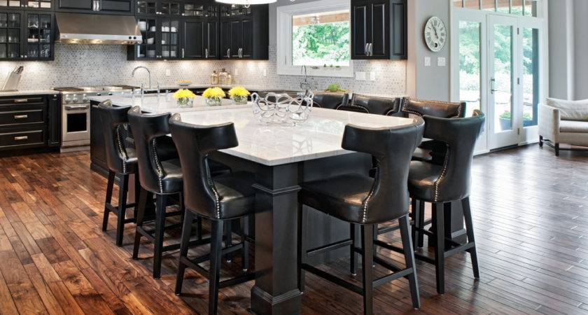 Kitchen Islands Seating Traditional